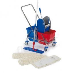 Cleaning Kit - verchromt mit Deichsel