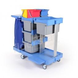 Moppbox-Wagen 1 - Kunststoff (ohne Säcke)