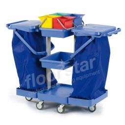 Putzwagen 3 - Kunststoff (ohne Säcke)