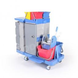 Reinigungswagen 1 Tresor - Kunststoff