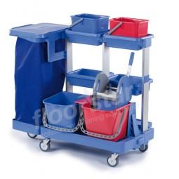 Reinigungswagen 2 - Kunststoff (ohne Sack)