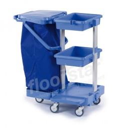 Reinigungswagen 4 - Kunststoff (ohne Sack)